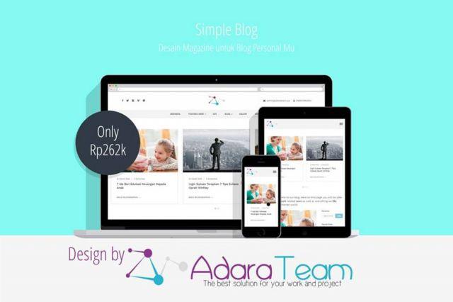 Adara Simple Blog - POT00028