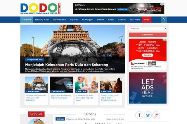 Dodo Magazine  Gratis Mug Cantik - POT00023